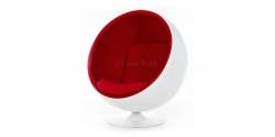 Eero Aarnio Style Ball Chair White - Replica