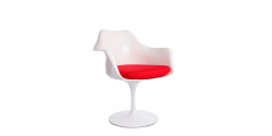 Eero Saarinen Style Tulip Arm Chair White - Replica