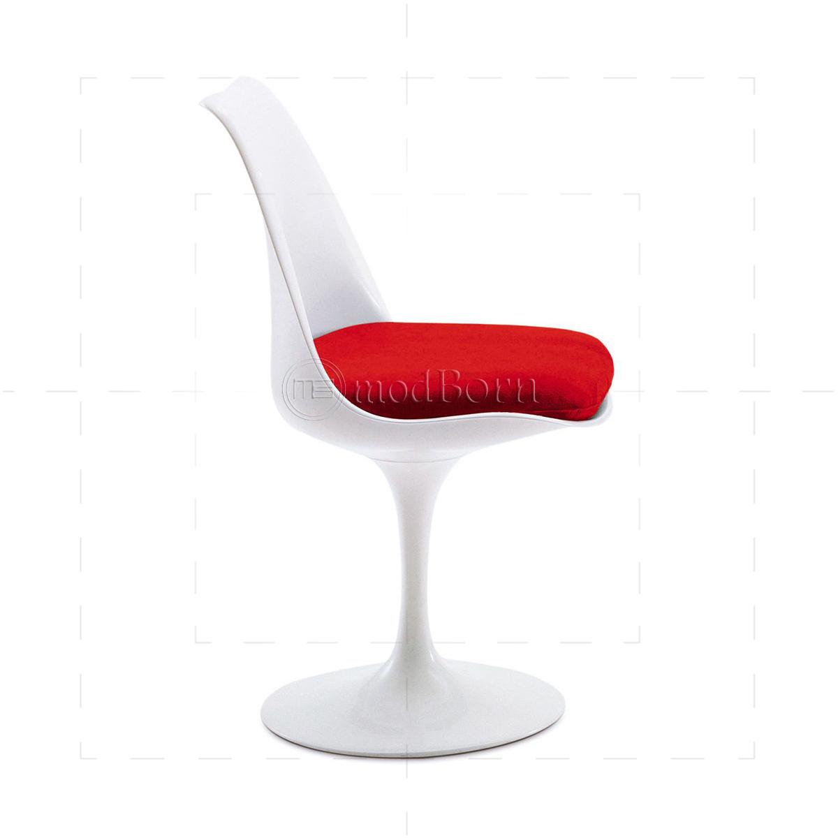 Eero saarinen style tulip chair white replica - Replica tulip chair ...