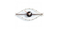 George Nelson Style Eye Wall Clock - Replica