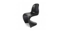 Verner Panton Chair Black- Replica
