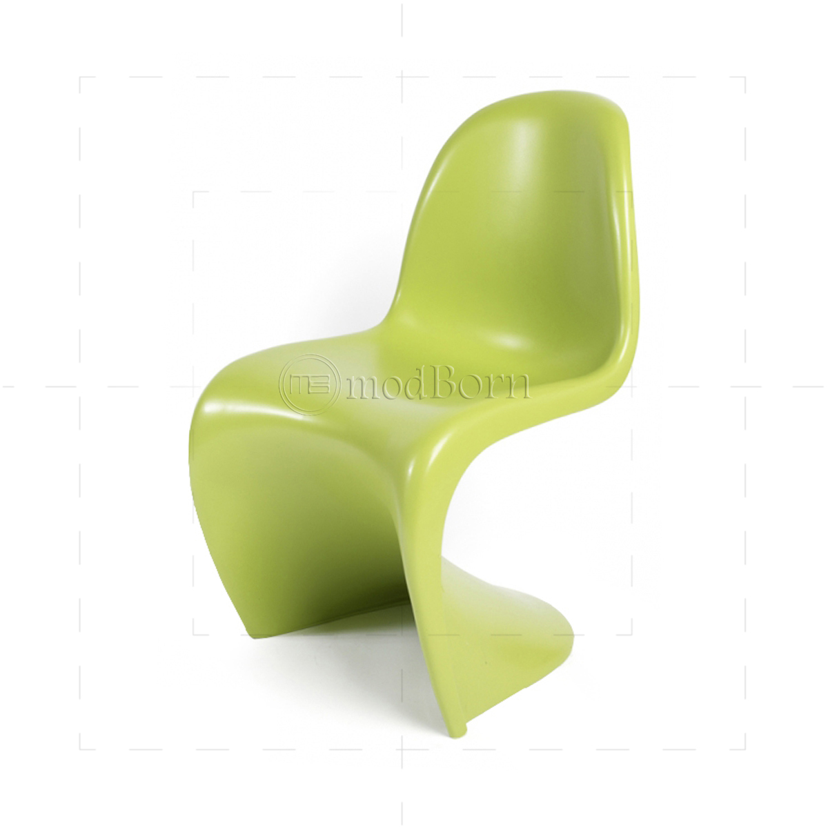 Verner panton chair green for Vitra replica deutschland