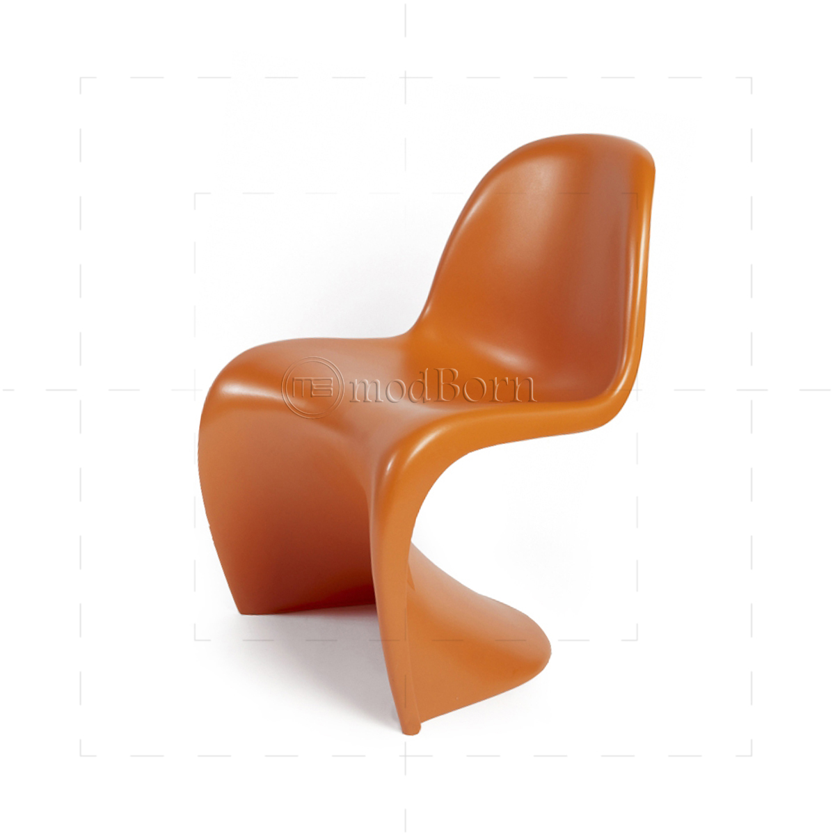 verner panton chair orange replica. Black Bedroom Furniture Sets. Home Design Ideas