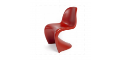Verner Panton Chair Red- Replica