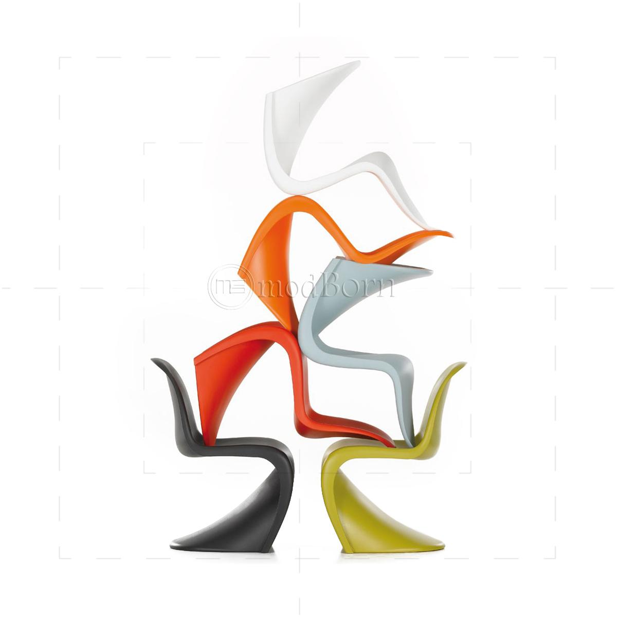 verner panton chair white. Black Bedroom Furniture Sets. Home Design Ideas