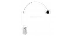Achille Castiglioni Style Arco Lamp White - Replica