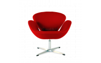 Arne Jacobsen Style Swan Chair Red