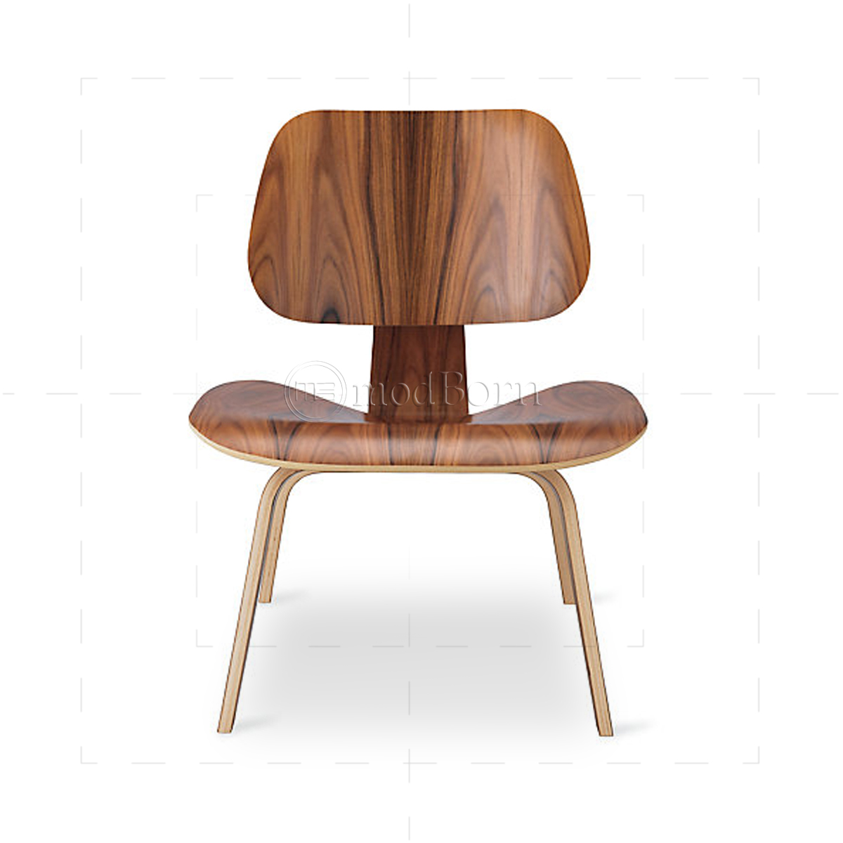 Eames style dining lcw rosewood chair replica for Eames replica deutschland