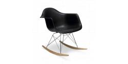 Rocking RAR Arm Chair BLACK