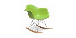 Rocking RAR Arm Chair Green