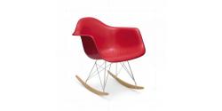 Rocking RAR Arm Chair Red