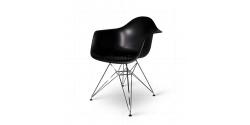 Dining DAR Arm Chair Black