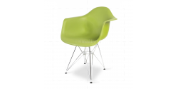 Eames Style Dining DAR Arm Chair Green - Replica