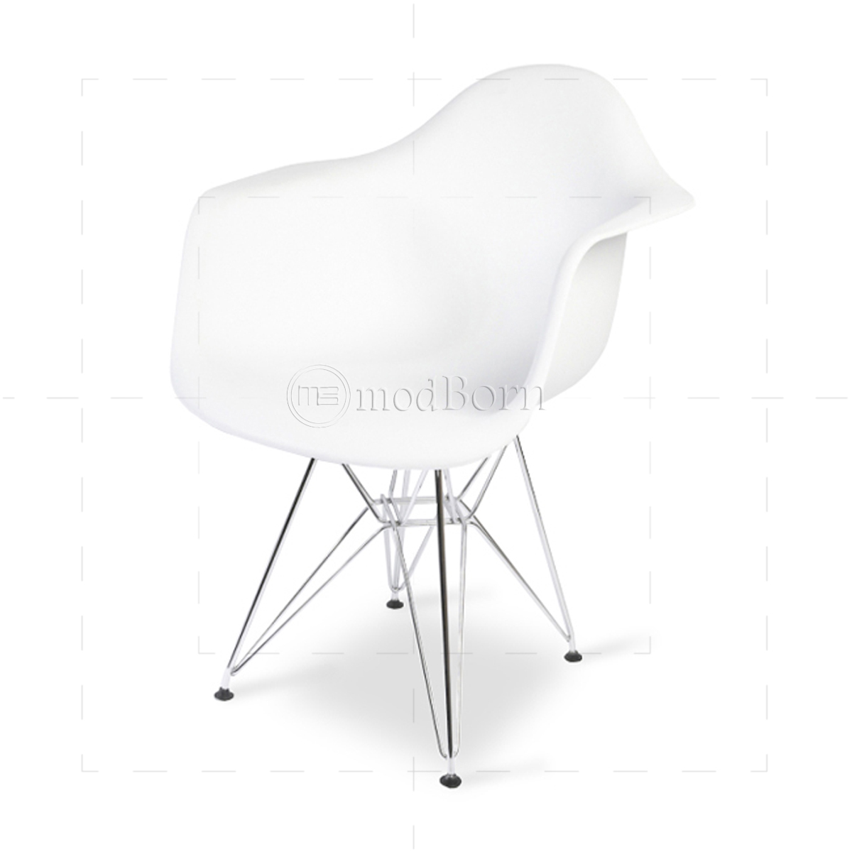 eames style dining dar arm chair white replica. Black Bedroom Furniture Sets. Home Design Ideas