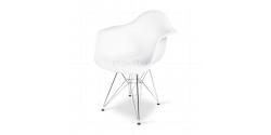 Dining DAR Arm Chair White