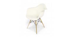 Dining DAW Arm Chair White