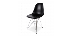 Eames Style Dining DSR Eiffel Chair Black - Replica