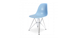 Eames Style Dining DSR Eiffel Chair Blue - Replica