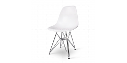 Eames Style Dining DSR Eiffel Chair White - Replica