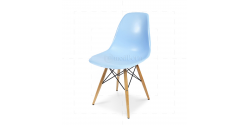 Eames Style Dining DSW Chair Blue - Replica