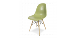 Eames Style Dining DSW Chair Green - Replica