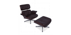 Charles Eames BROWN Leather Chair