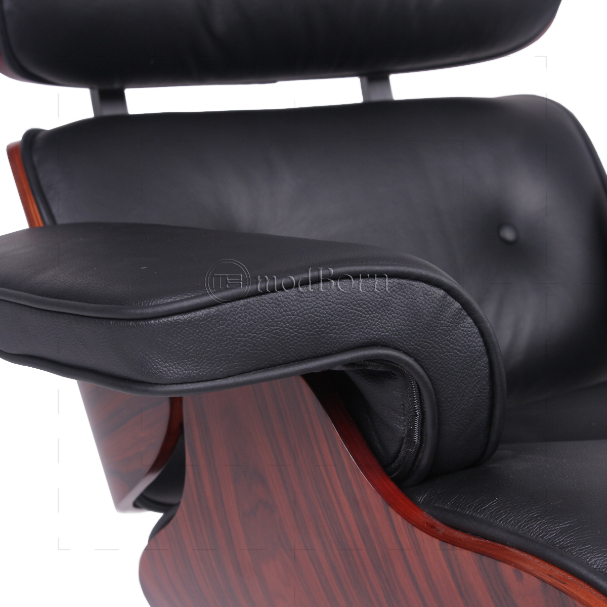 Fabulous Eames Style Lounge Chair And Ottoman Black Leather Unemploymentrelief Wooden Chair Designs For Living Room Unemploymentrelieforg