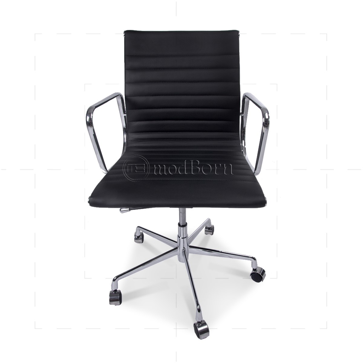 EA117 Eames Style Office Chair Low Back Ribbed Black  : eames office lowback black 1200x1200 from www.modborn.com size 1200 x 1200 jpeg 324kB