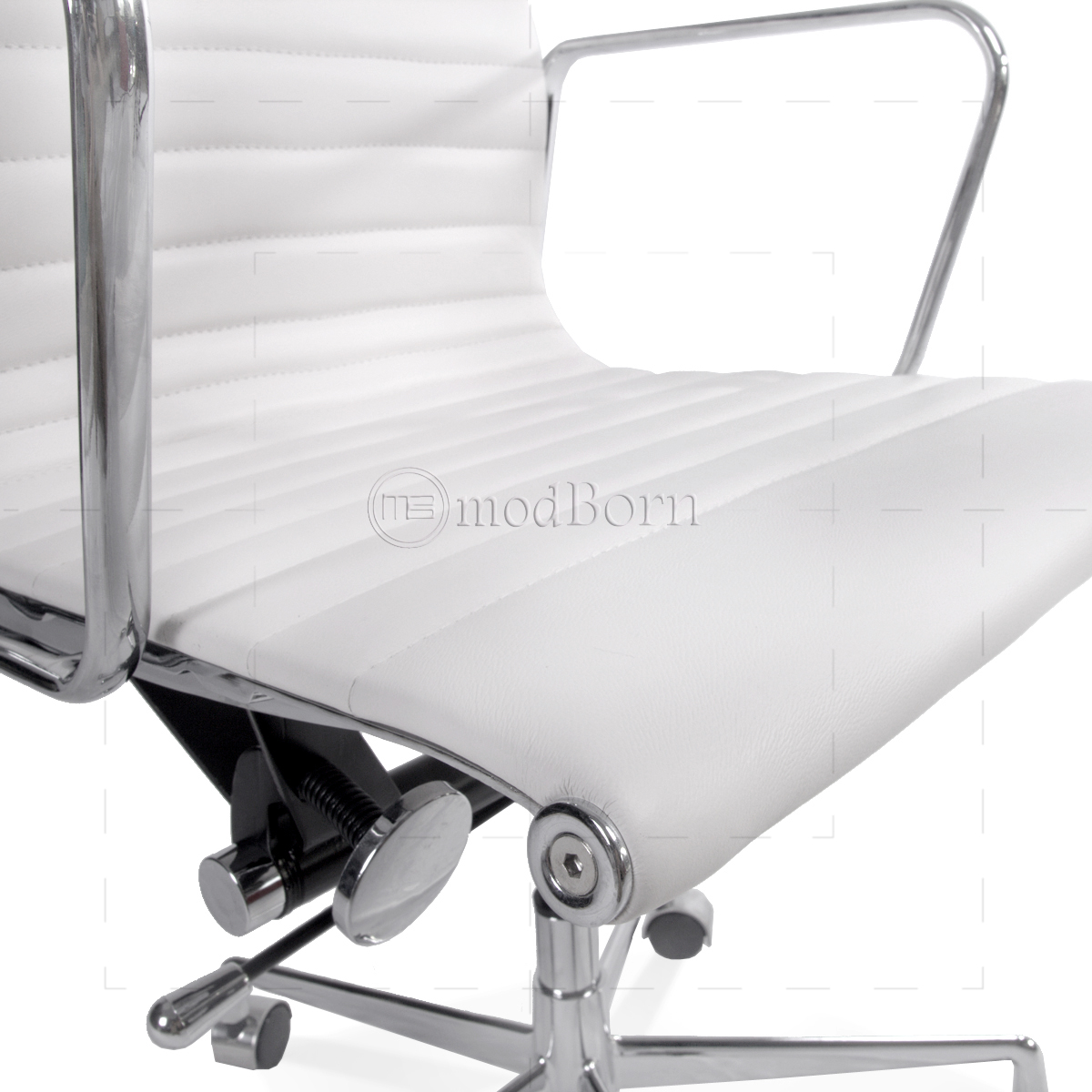 eames style office chairs. ea117 eames style office chair low back ribbed white leather replica chairs