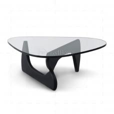 lsamu Noguchi Style Coffee Table Black Wood- Replica