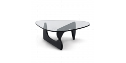 lsamu Noguchi Style Coffee Table Black Wood- Replica