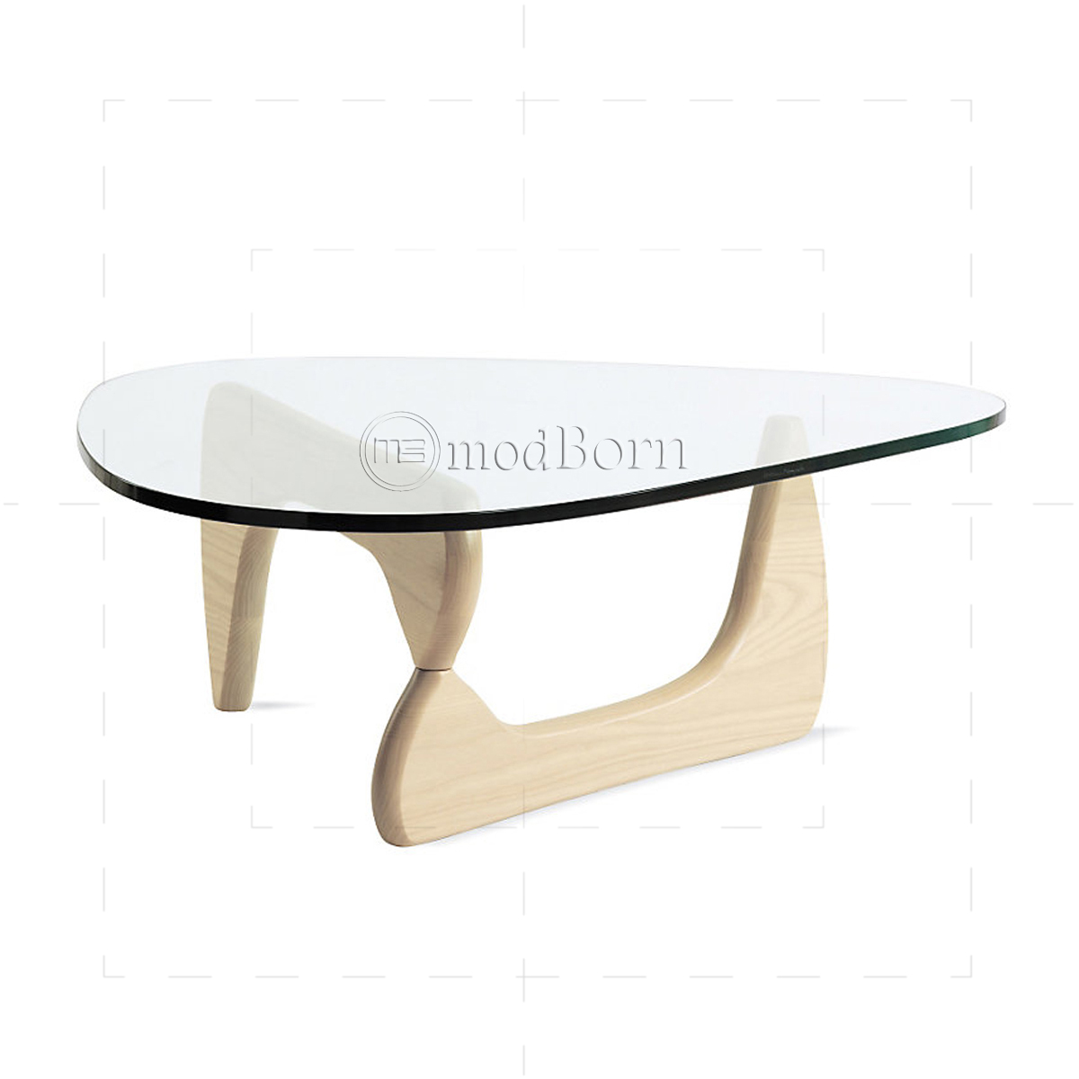 lsamu noguchi style coffee table ashwood. Black Bedroom Furniture Sets. Home Design Ideas