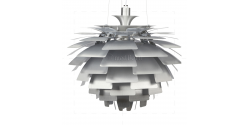 Ceiling Lamp Silver - 60cm