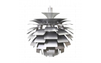 Ceiling Lamp Silver - 48cm